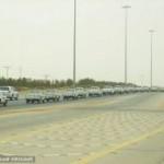 قافلة تمور مهرجان عنيزة أكبر مسيره للسيارات في الشرق الاوسط
