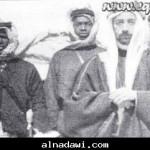 الملك فيصل الأول في المدينة المنورة