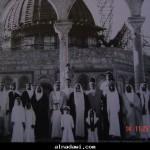 شيوخ من قطر في القدس في الثلاثينات