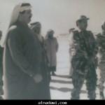 امير قطر وفهد بن غراب المري وعبدالله ابو صلعا المري في ازمة الكويت