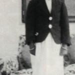السلطان قابوس في صغره