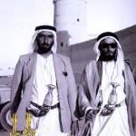 الشيخ شخبوط ال نهيان والشيخ زايد ال نهيان الله يرحمهم برحمته