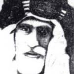 الشيخ فالح بن ناصر السعدون شيخ عشائر المنتفق أواخر القرن الثامن عشر